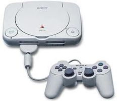 Playstation One, the little one. Got this when I was a kid and I still have it and use it!