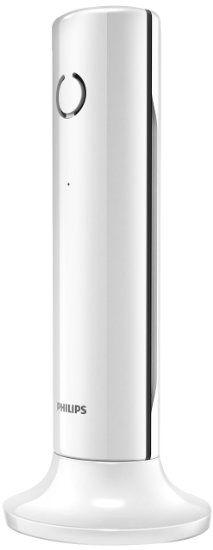 Philips Linea M3301W Téléphone Fixe sans Fil Elégant avec Haut-Parleur…