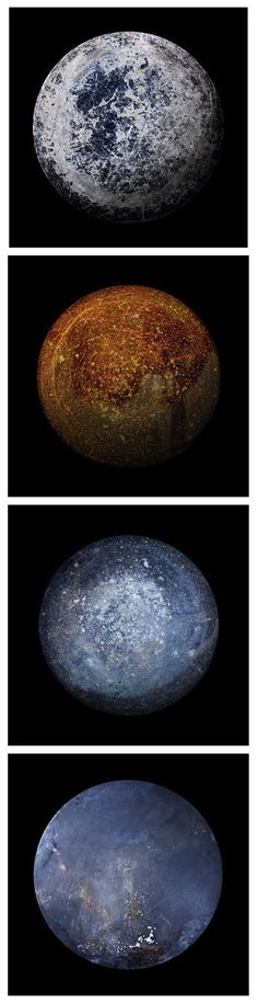 Alien worlds? Nope. These are pictures of frying pans by Christopher Jonassen