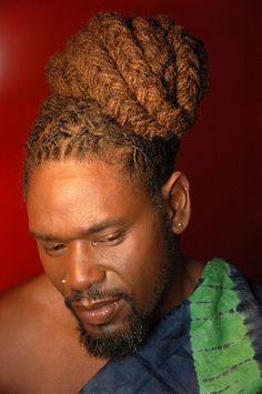 Dreadlock Hairstyles For Men, Black Men Hairstyles, Mens Dreads, Dread Braids, Hype Hair, Lock Style, Hair Heaven, Beard Gang, Natural Styles