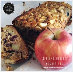 Maddie Race - Apple Blueberry Yoghurt Cake