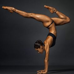 Misty Copeland, the first black principal dancer for America's leading classical ballet company,the American Ballet Theatre, is significant not just for breaking a racial barrier, but for what her body represents. Copeland is not built like a 'typical' ballerina. She is shorter, more busty and — like her counterparts Serena Williams in tennis and Simone Biles in gymnastics — visibly muscular.