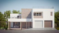 Проект: индивидуальный жилой дом BOXES — архитектурная мастерская YOUR PROJECT — MyHome.ru