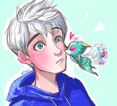 """raenayango: """"baby tooth so cute > Dreamworks Animation, 3d Animation, Disney And Dreamworks, Disney Pixar, Disney Animation, Jack Frost, Guardians Of Childhood, Jack And Elsa, Rise Of The Guardians"""