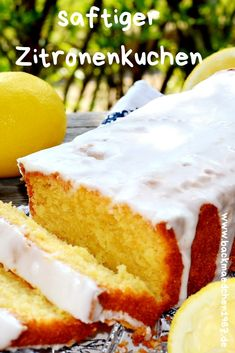 Backmaedchen 1967 Torten und Kuchen You want summer on your plate, then this juicy lemon cake is jus Italian Cookie Recipes, Easy Cookie Recipes, Baking Recipes, Cake Recipes, Italian Foods, Italian Cookies, Vegan Lemon Cake, Cream Cheese Desserts, Cream Cheeses