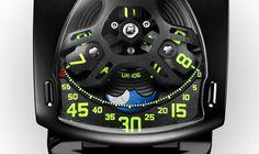 Watches by SJX: Urwerk Unveils Unique UR-106 for Only Watch 2015