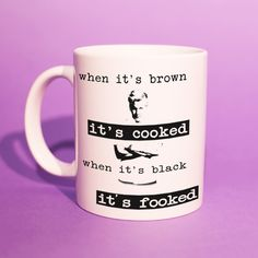 Gordon Ramsay - 'It's Fooked' Mug (Gordon Ramsay Meme, Gordon Ramsay Funny, Best Mate, Christmas Gift Ideas, Cheap Gifts For Him) Gifts For Husband, Gifts For Him, Gordon Ramsay Funny, Personalized Gifts, Handmade Gifts, Cheap Gifts, Last Minute Gifts, Grandma Gifts, Homemade
