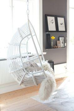 Idée créative - décoration avec des balançoires