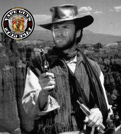 Clint Eastwood vaping e-cig Juggernaut Mod