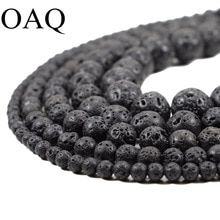 DIY Black Volcanic Lava Beads Lava Stone Beads Round Volcanic-Stone Wholesale Natural Stone Beads for Jewelry Making - Sahumart Lava, Cheap Beads, Bead Store, Jewelry Making Beads, Diy Jewelry, Jewlery, Sea Glass Jewelry, Round Beads, Jewelry Supplies