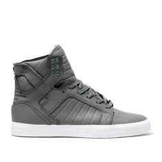 awesome supra shoes for girls grey