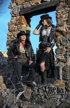 bandita old wild west Cowboy Girl, Western Girl, Cowgirl Style, Western Wear, Western Style, Mode Steampunk, Steampunk Cosplay, Vaquera Sexy, Cowboy Action Shooting