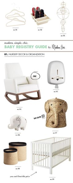 Thank you to @Modern Eve for including us in the Ultimate Baby Registry Gift Guide: Decor & Organization by Modern Eve