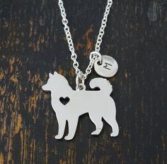 Husky Necklace, Husky Charm, Husky Pendant, Husky Jewelry, Husky Dog Necklace, Siberian Husky, Dog P Bff Necklaces, Dog Necklace, Simple Necklace, Dog Jewelry, Jewelry Gifts, Jewelery, Artisan Jewelry, Handcrafted Jewelry, Handmade
