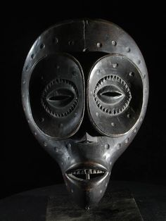Masque Ibibio. Nigéria.