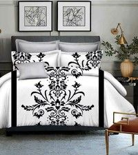 Home | comforter cover bedding sets 2015 new product The red rose 3d bedding set queen size quilt cover (Size: Queen, Color: White)