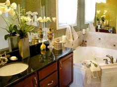 A Little Corner of Relaxation | Bathroom Design Photo Gallery MD VA DC