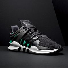 "7086f87e77b0c adidas Originals on Instagram: ""The #EQT ADV 91-16 celebrates 25 years of  adidas Equipment – in the familiar green and black OG colours, ..."