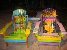 Hand Painted Adirondack Chairs