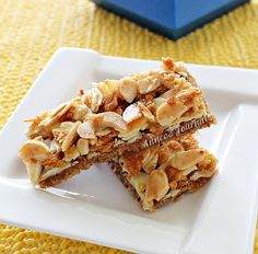 This is the Almond Cookie Bar that I made last weekend. I scribbled down the recipe on a memo pad many years ago, put it in my folder and had completely forgotten from where did I get this recipe. If anyone of you know the link of this recipe please let me know. This Almond …