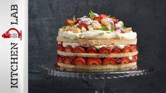 Καλοκαιρινή τούρτα με φράουλες Επ.48 | Kitchen Lab TV