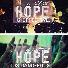 Hope is indeed a powerful thing. All of my hopes came true when I saw The Hunger Games!