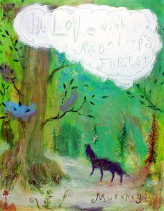 ハナロアの小道☆森を行くと美しい鹿に出逢いました……不思議な道を登り、僕らは誰も知らない場所へと向かいました。