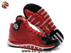 Cheap Q33234 University Red White Adidas Derrick Rose 773 II
