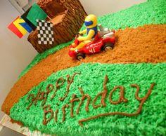 Go-kart Party Themes, Party Ideas, Go Kart, Creative Cakes, Cake Ideas, Cars, Birthday, Karting, Birthdays