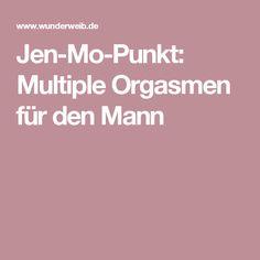 Jen-Mo-Punkt: Multiple Orgasmen für den Mann