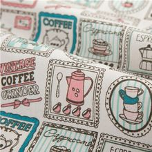 50x150cm Colorful Cotton Fabric Cloth Diy Handmade Sewing Patchwork Sofa Curtain Tablecloth Kids Bedding Baby Doll Bag Textile(China)