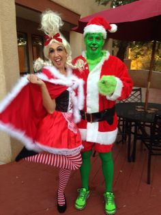 Fun couples costume Cindy Lou Who and The Grinch  sc 1 st  Pinterest & Adult Cindy Lou Who Costume (Size: Standard 8-12) Wilton http://www ...