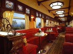 Golden Eagle - Trans Siberian Railway ... Do you think travelling by train is a romantic way to travel? Why?