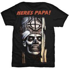 Ghost Men's Tee: Here's Papa Ref:GHOTEE10MB