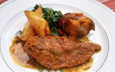 O Cozinheiro de fim de semana: Frango Assado com Batata, Abóbora e Especiarias