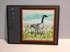 My Creative Corner!: Wetlands Masculine Card with the Painters Tape Technique