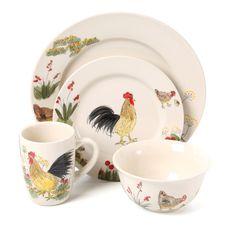 Aqua Set of 4 Whitaker Soup Bowls by Paula Deen at Cooking.com ...