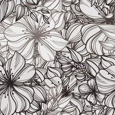 Papel de Parede Floral 1234