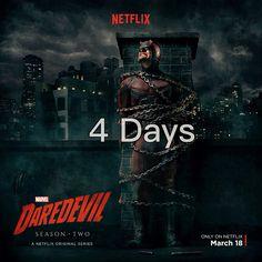 Just 4 More Days !!! DareDevil DareDevil Season 2
