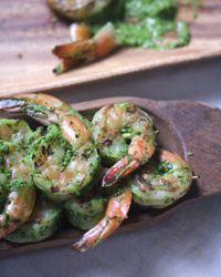 Grilled Harissa Shrimp Recipe - Bon Appétit