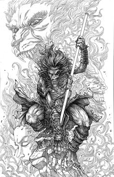 The Monkey King by allengeneta on DeviantArt