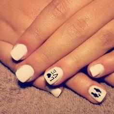 Love white nails
