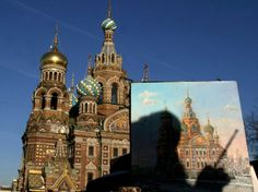 Marvel at the incredibly elaborate architecture of St. Petersburg, Russia.
