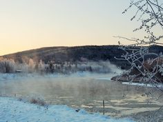 Photo credit to Mary Beth O' Leary Cold Fusion, Winter Scenery, Winter Art, Photo Credit, Mary, River, Outdoor, Outdoors, Outdoor Games
