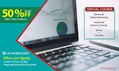 #ATEESIndustrialTraining First time in Kerala, get quality training at unbelievably low prices! Our Special course Advanced Digital Marketing + Advanced Software Testing + Server + Security available at flat 50 % discount. Grab the opportunity now! Who can apply: --> Under 24 years of age --> Ongoing/passed out students ATEES Industrial Training 2nd Floor Ananya Tower M.G Road Thrissur,Kerala,India Call : 8589012025, 9287212121 & 0487-2445556 www.atees.org #AdvancedDigitalMarketingCourse