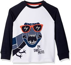 Gymboree Toddler Boys Dinomite Graphic Tee White 3T >>> You can get more details by clicking on the image.Note:It is affiliate link to Amazon. #dog