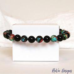 Handmade Beaded Jewelry, Wooden Jewelry, Handmade Bracelets, Beaded Bracelets, Polymer Clay Magnet, Clay Magnets, Diy Bracelet Storage, Happy Birthday Chalkboard, Jewelry Rack