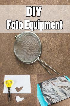 Low Budget Foto Tipps mit DIY Foot Equipment - Super coole Foto Effekte zum kleinen Preis mit Wow-Faktor! - Jetzt ausprobieren!