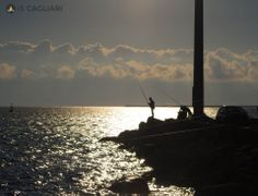 "Fishing at ""Su Siccu""."