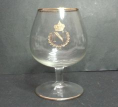 8 oz (250 ml) Napoleon #cognac Brandy crystal Snifter with gold trim gold crown visit our ebay store at  http://stores.ebay.com/esquirestore
